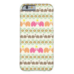 Tribal Weave Elephant Pattern Barely There iPhone 6 Case