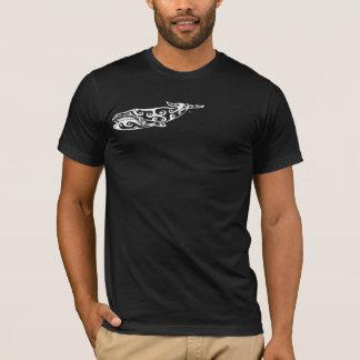 Tribal Whale Tattoo 4 T-Shirt