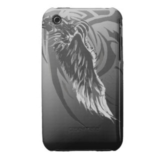tribal wing design iPhone 3 Case-Mate cases