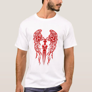 Tribal Wings 1 red T-Shirt