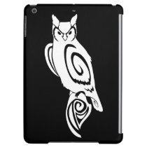 Tribal Wise Great Horned Owl Cover For iPad Air