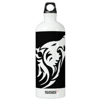 Tribal Wolf Aluminum Water Bottle