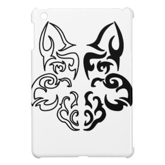 Tribal Wolf iPad Mini Case