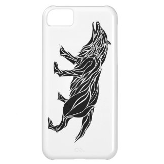 Tribal Wolf iPhone 5C Cover