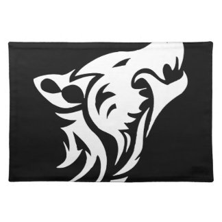 Tribal Wolf Place Mat