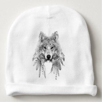 Tribal Wolf Spirit Baby Beanie