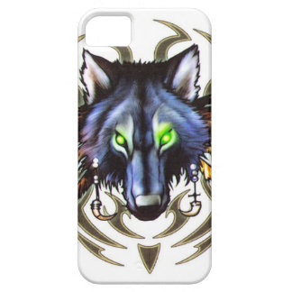 Tribal wolf tattoo design iPhone SE/5/5s case
