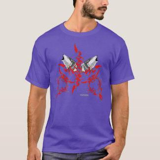 Tribal Wolves Men's Long Sleeve Shirt