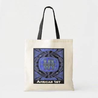 Tribal Women effigy - Aftrican Art Budget Tote Bag