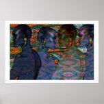 Tribal Women of Africa Print