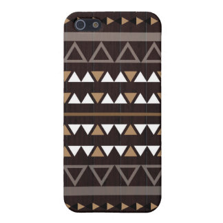 Tribal Wood Cover For iPhone SE/5/5s