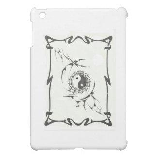 tribal yin yang iPad mini cases