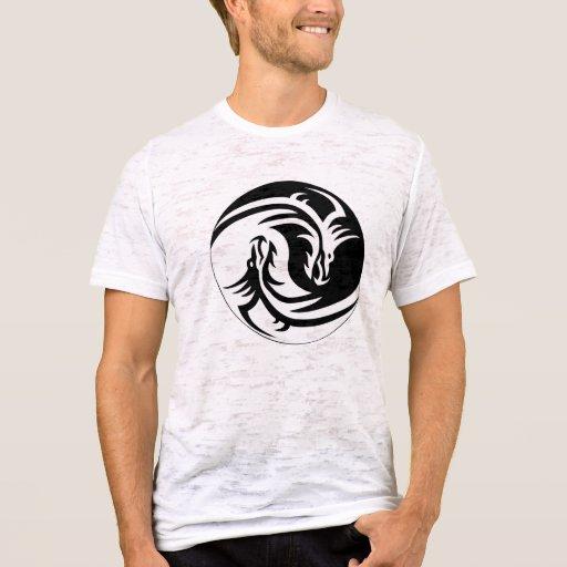 Tribal Yin Yang T-Shirt