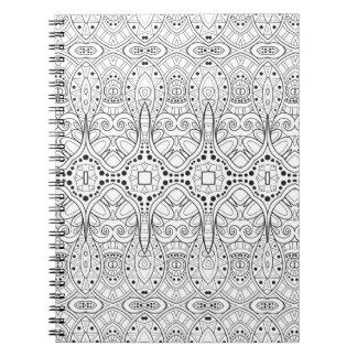 Tribal Zendoodle Design Notebook