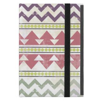 Tribal Zigzag iPad Mini Case With Kickstand