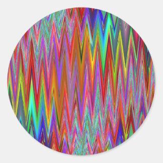 Tribal Zigzag Sticker