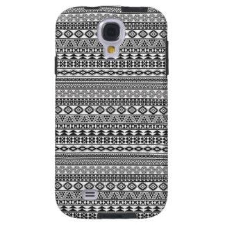 Tribalism Custom Tribal Geometric Pattern Galaxy S4 Case