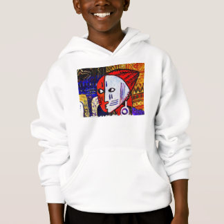 TRIBALMAN 2a, THE FACE OF AFRICA Hoodie