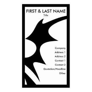 tribalz business card