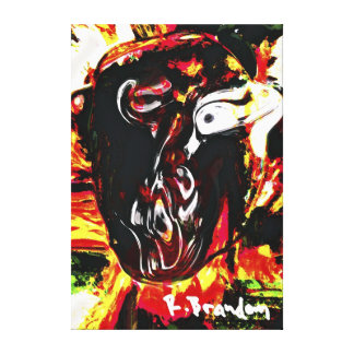 """Tribe Leader"" Gallery Wrapped Canvas Painting"