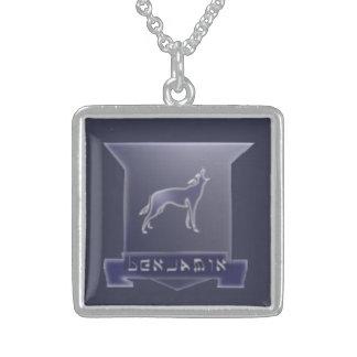 Tribe Of Benjamin Medium Sterling Silver Necklace