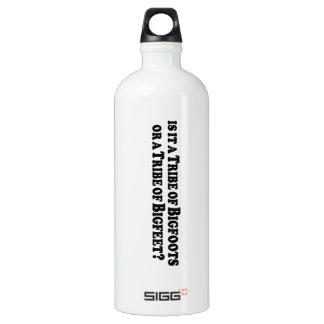 Tribe of Bigfoots or Bigfeet - Basic Water Bottle