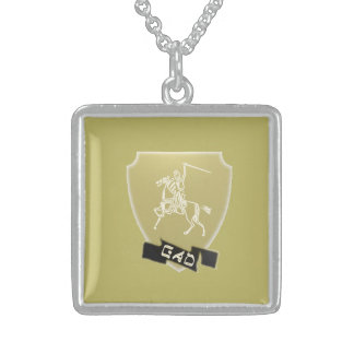 Tribe Of Gad Crest Sterling Silver Necklace