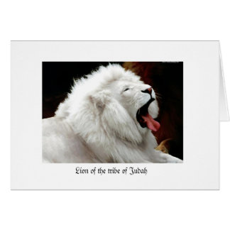 Tribe of Juda Greeting Card