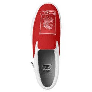Tribe Of Judah Crest Zipz Slip On Sneakers