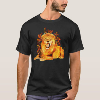Tribe of Judah Fiery Lion T-Shirt