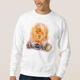 Tribe of Judah - Long Sleeve White Sweatshirt