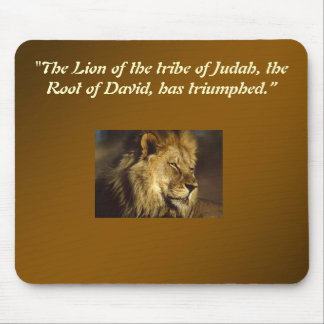 Tribe of Judah Mouse Pad