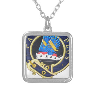 Tribe of Mar Crest Silver Plated Necklace