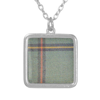 Tribe of Mar/Marr Ancient Tartan Silver Plated Necklace