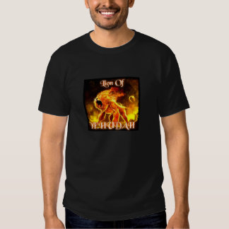Tribe of Yehudah Fire Lion (Rev 5:5) T Shirts