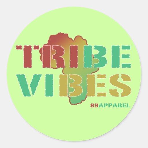 Tribe Vibes Classic Round Sticker