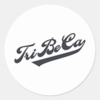 TriBeCa Classic Round Sticker