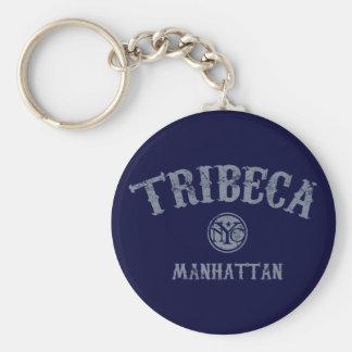 TriBeCa Key Chain