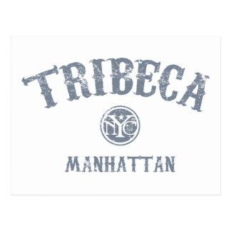 TriBeCa Postcard