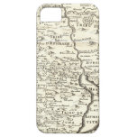 Tribes of Israel - Antique Map of Promised Land iPhone 5 Case
