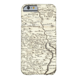 Tribes of Israel - Antique Map of Promised Land iPhone 6 Case