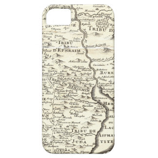 Tribes of Israel - Antique Map of Promised Land iPhone SE/5/5s Case