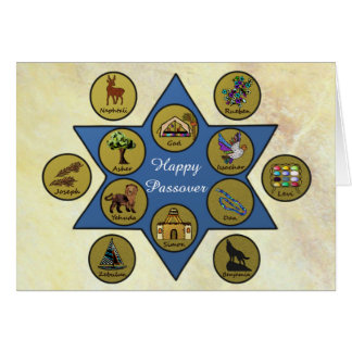 Tribes of Israel Passover Card