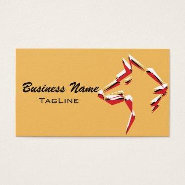 Lawyer Themed TribeWolf Trico Business Card