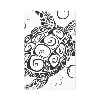 Trible Tattoo Canvas Print