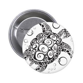 Trible Tattoo Pinback Button
