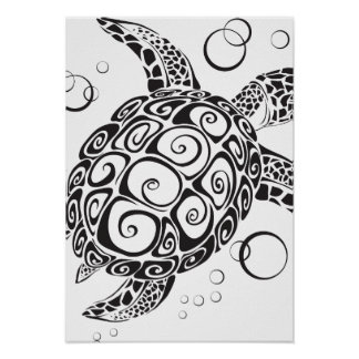 Trible Tattoo Posters