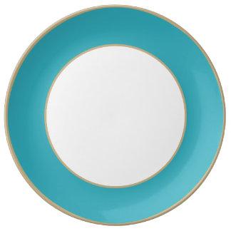 Triboro Blue-Electric Blue-Uptown Girl-Designer Plate