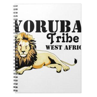 Tribu de encargo de Africankoko Yoruba (Nigeria) Cuadernos