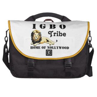 Tribu de encargo del igbo de Africankoko (Nigeria) Bolsas De Portatil